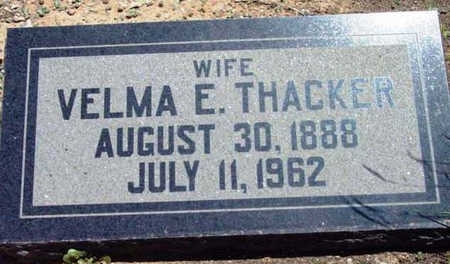 THACKER, VELMA ELLA - Yavapai County, Arizona | VELMA ELLA THACKER - Arizona Gravestone Photos