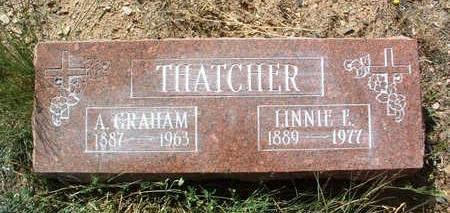 THATCHER, ALBERT GRAHAM, SR. - Yavapai County, Arizona   ALBERT GRAHAM, SR. THATCHER - Arizona Gravestone Photos