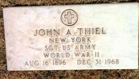 THIEL, JOHN A. - Yavapai County, Arizona | JOHN A. THIEL - Arizona Gravestone Photos