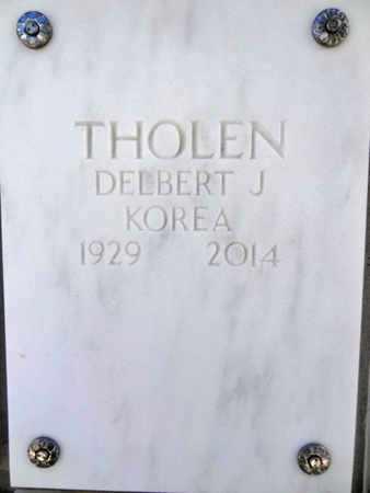 THOLEN, DELBERT J. - Yavapai County, Arizona | DELBERT J. THOLEN - Arizona Gravestone Photos
