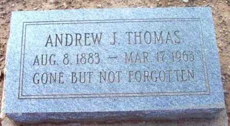 THOMAS, ANDREW J. - Yavapai County, Arizona | ANDREW J. THOMAS - Arizona Gravestone Photos