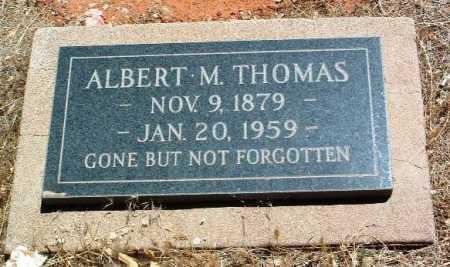 THOMAS, ALBERT MARION - Yavapai County, Arizona | ALBERT MARION THOMAS - Arizona Gravestone Photos