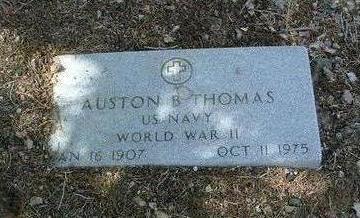 THOMAS, AUSTON B. - Yavapai County, Arizona | AUSTON B. THOMAS - Arizona Gravestone Photos