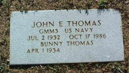 JOHNSON THOMAS, BUNNY - Yavapai County, Arizona | BUNNY JOHNSON THOMAS - Arizona Gravestone Photos
