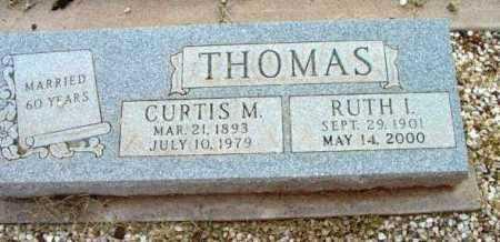 THOMAS, CURTIS M. - Yavapai County, Arizona | CURTIS M. THOMAS - Arizona Gravestone Photos