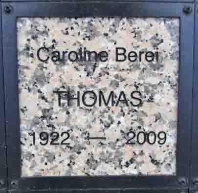 THOMAS, CAROLINE - Yavapai County, Arizona | CAROLINE THOMAS - Arizona Gravestone Photos