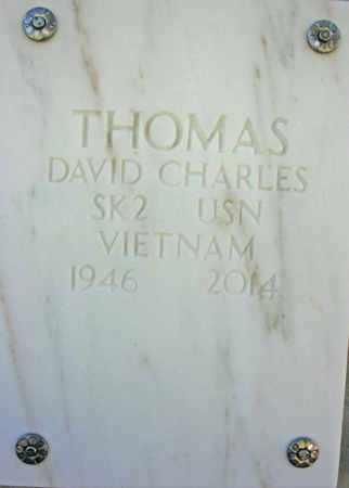 THOMAS, DAVID CHARLES - Yavapai County, Arizona | DAVID CHARLES THOMAS - Arizona Gravestone Photos