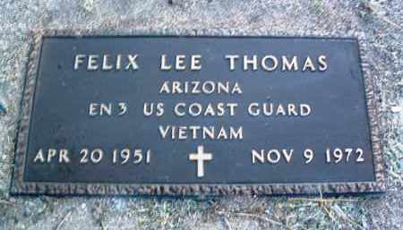 THOMAS, FELIX LEE - Yavapai County, Arizona | FELIX LEE THOMAS - Arizona Gravestone Photos