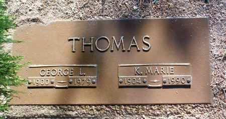 THOMAS, GEORGE LEROY - Yavapai County, Arizona | GEORGE LEROY THOMAS - Arizona Gravestone Photos