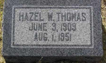 BROWN THOMAS, HAZEL - Yavapai County, Arizona | HAZEL BROWN THOMAS - Arizona Gravestone Photos