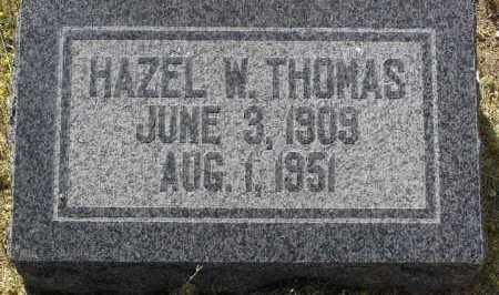 THOMAS, HAZEL WILLIE - Yavapai County, Arizona | HAZEL WILLIE THOMAS - Arizona Gravestone Photos