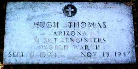 THOMAS, HUGH - Yavapai County, Arizona | HUGH THOMAS - Arizona Gravestone Photos