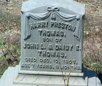 THOMAS, HARRY PRESTON - Yavapai County, Arizona | HARRY PRESTON THOMAS - Arizona Gravestone Photos