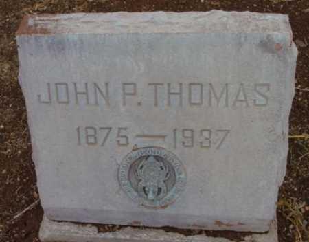 THOMAS, JOHN PERCY - Yavapai County, Arizona | JOHN PERCY THOMAS - Arizona Gravestone Photos