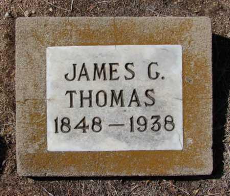 THOMAS, WILLIAM / JAMES G. - Yavapai County, Arizona | WILLIAM / JAMES G. THOMAS - Arizona Gravestone Photos