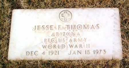 THOMAS, JESSE F. - Yavapai County, Arizona   JESSE F. THOMAS - Arizona Gravestone Photos