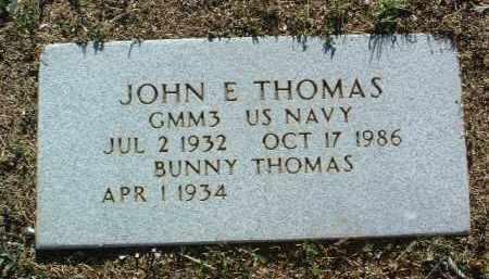 THOMAS, JOHN E. - Yavapai County, Arizona   JOHN E. THOMAS - Arizona Gravestone Photos
