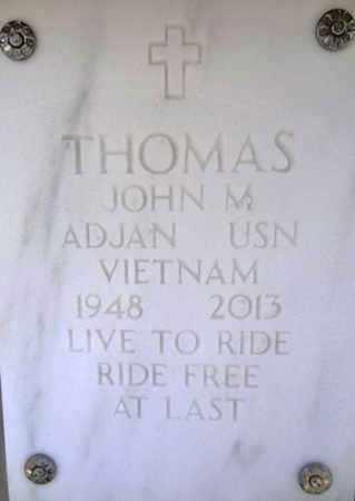THOMAS, JOHN M. - Yavapai County, Arizona | JOHN M. THOMAS - Arizona Gravestone Photos