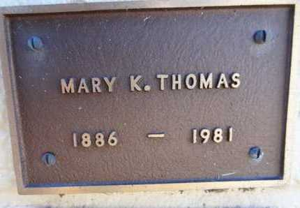 CICHOWLEZ THOMAS, MARY - Yavapai County, Arizona | MARY CICHOWLEZ THOMAS - Arizona Gravestone Photos