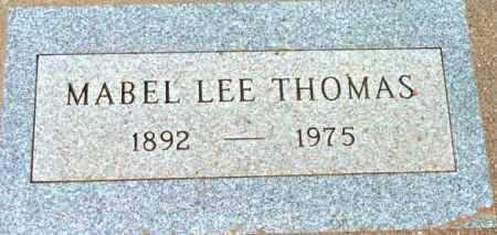 THOMAS, MABEL LEE - Yavapai County, Arizona | MABEL LEE THOMAS - Arizona Gravestone Photos
