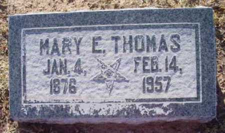 THOMAS, MARY ELIZABETH - Yavapai County, Arizona | MARY ELIZABETH THOMAS - Arizona Gravestone Photos