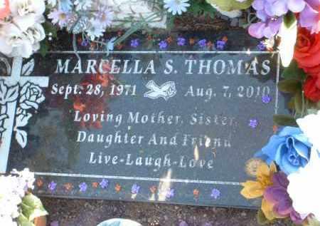 THOMAS, MARCELLA SENAIDA - Yavapai County, Arizona | MARCELLA SENAIDA THOMAS - Arizona Gravestone Photos