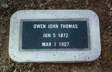 THOMAS, OWEN JOHN - Yavapai County, Arizona   OWEN JOHN THOMAS - Arizona Gravestone Photos