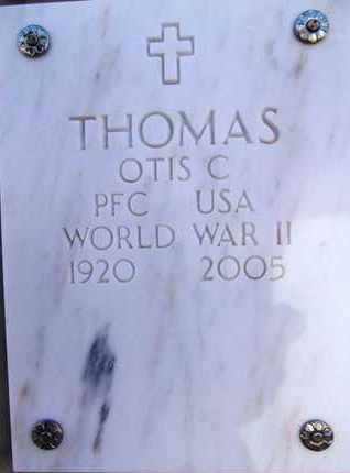 THOMAS, OTIS CARL - Yavapai County, Arizona   OTIS CARL THOMAS - Arizona Gravestone Photos