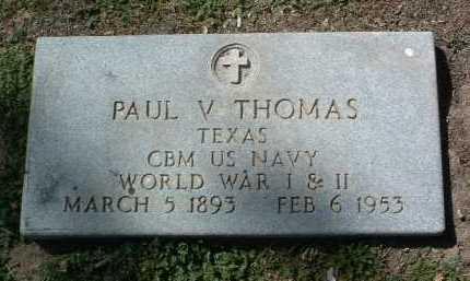 THOMAS, PAUL VERNON - Yavapai County, Arizona | PAUL VERNON THOMAS - Arizona Gravestone Photos