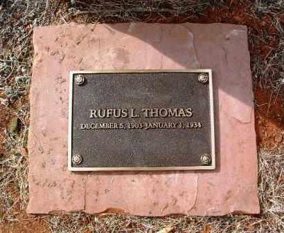 THOMAS, RUFUS L. - Yavapai County, Arizona   RUFUS L. THOMAS - Arizona Gravestone Photos