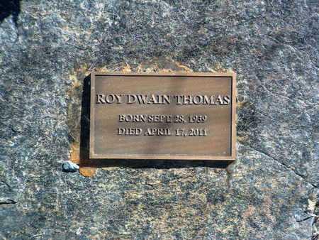 THOMAS, ROY DWAIN - Yavapai County, Arizona | ROY DWAIN THOMAS - Arizona Gravestone Photos
