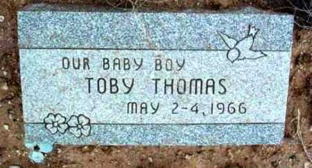 THOMAS, TOBY - Yavapai County, Arizona | TOBY THOMAS - Arizona Gravestone Photos