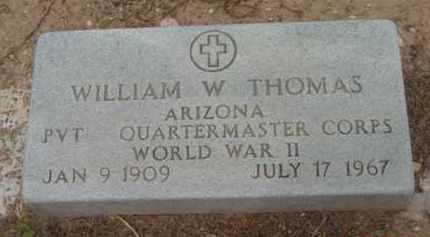 THOMAS, WILLIAM W. - Yavapai County, Arizona   WILLIAM W. THOMAS - Arizona Gravestone Photos