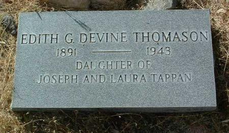 THOMASON, EDITH GORDON - Yavapai County, Arizona | EDITH GORDON THOMASON - Arizona Gravestone Photos