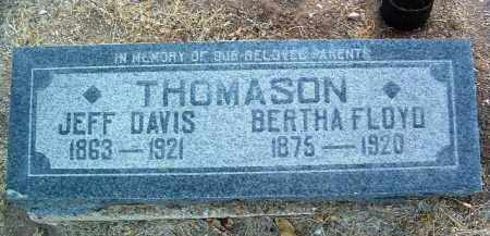 COURTNEY THOMASON, BERTHA FLOYD - Yavapai County, Arizona | BERTHA FLOYD COURTNEY THOMASON - Arizona Gravestone Photos