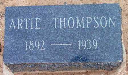 THOMPSON, WILLIAM ARTIE - Yavapai County, Arizona | WILLIAM ARTIE THOMPSON - Arizona Gravestone Photos