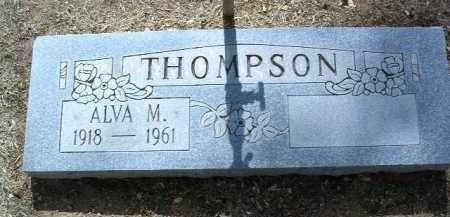THOMPSON, ALVA MONROE - Yavapai County, Arizona   ALVA MONROE THOMPSON - Arizona Gravestone Photos