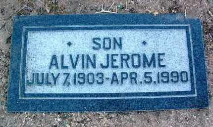 THOMPSON, ALVIN JEROME - Yavapai County, Arizona | ALVIN JEROME THOMPSON - Arizona Gravestone Photos