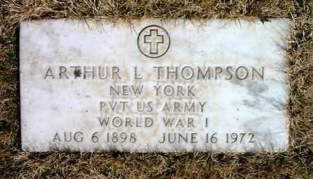 THOMPSON, ARTHUR L. - Yavapai County, Arizona | ARTHUR L. THOMPSON - Arizona Gravestone Photos