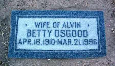 OSGOOD THOMPSON, BETTY - Yavapai County, Arizona   BETTY OSGOOD THOMPSON - Arizona Gravestone Photos