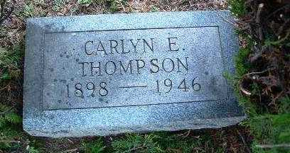 THOMPSON, CARLYN E. - Yavapai County, Arizona | CARLYN E. THOMPSON - Arizona Gravestone Photos