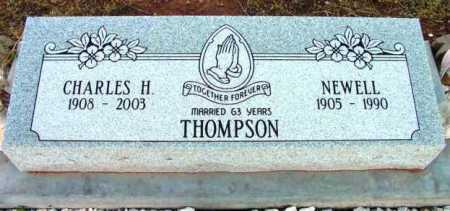 VICKERS THOMPSON, NEWELL - Yavapai County, Arizona | NEWELL VICKERS THOMPSON - Arizona Gravestone Photos