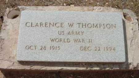 THOMPSON, CLARENCE WILLIS - Yavapai County, Arizona | CLARENCE WILLIS THOMPSON - Arizona Gravestone Photos