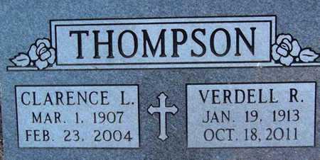 THOMPSON, VERDELL ROSALIE - Yavapai County, Arizona | VERDELL ROSALIE THOMPSON - Arizona Gravestone Photos