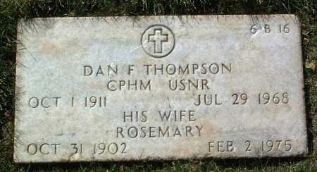 THOMPSON, ROSEMARY - Yavapai County, Arizona | ROSEMARY THOMPSON - Arizona Gravestone Photos