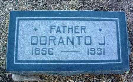 THOMPSON, DORANTO JUALOR - Yavapai County, Arizona | DORANTO JUALOR THOMPSON - Arizona Gravestone Photos