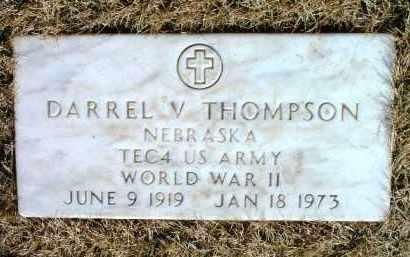 THOMPSON, DARREL VERNON - Yavapai County, Arizona | DARREL VERNON THOMPSON - Arizona Gravestone Photos