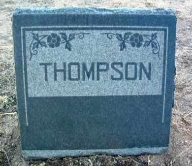 THOMPSON, HEADSTONE - Yavapai County, Arizona   HEADSTONE THOMPSON - Arizona Gravestone Photos