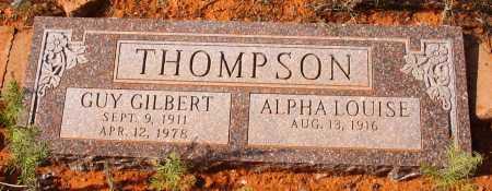 THOMPSON, ALPHA LOUISE - Yavapai County, Arizona | ALPHA LOUISE THOMPSON - Arizona Gravestone Photos