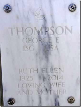 THOMPSON, GEORGE ELMER - Yavapai County, Arizona   GEORGE ELMER THOMPSON - Arizona Gravestone Photos